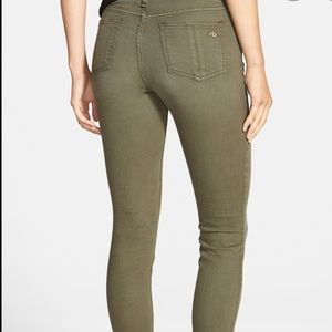 Rag and Bone Dist Fatigue Skinny Jean